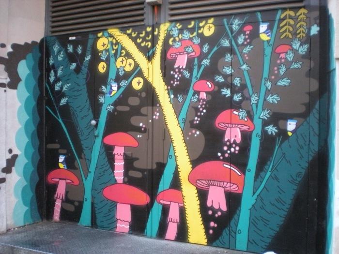 Mushroom Street Art | France