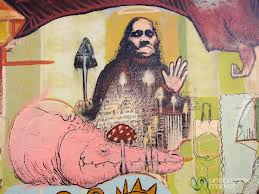 Mushroom Street Art |  Oaxaca, Mexico