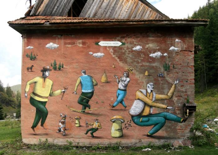 Mushroom Street Art | Ukraine