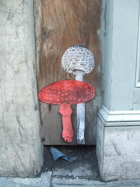 Mushroom Street Art  | London