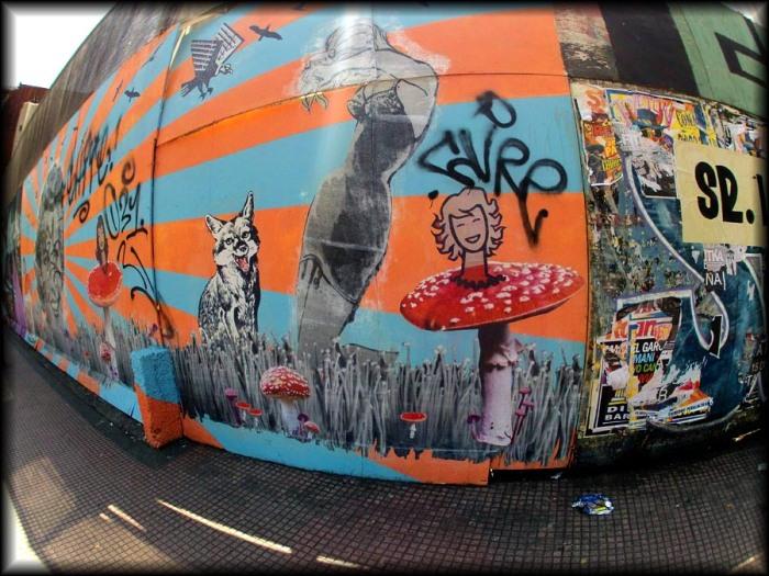 Mushroom Street Art